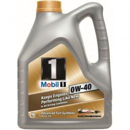4L  Mobil1 New Life 0w40 sintētiskā motoreļļa - 0w-40