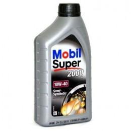 1L 10w40 MOBIL SUPER  2000 X1 pussintētiskā motoreļļa - 10w-40
