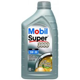 1L - 5w30 MOBIL  XE1 BMW sertificēta motoru eļļa SUPER 3000 BMW Longlife04 - 5w-30