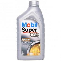 1L 5w40 MOBIL SUPER 3000  x1 sintētiskā motoreļļa - 5w-40