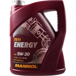 1L - 5W30 ENERGY MANNOL motoreļļa
