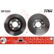 DF1220 TRW  bremžu disks