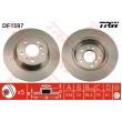 DF1597 TRW  bremžu disks