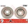 DF2566 TRW  bremžu disks