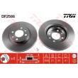 DF2586 TRW  bremžu disks
