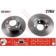DF2651 TRW  bremžu disks