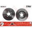 DF2671 TRW  bremžu disks