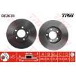 DF2678 TRW  bremžu disks
