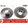 DF2721 TRW  bremžu disks