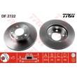 DF2722 TRW  bremžu disks