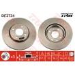 DF2734 TRW  bremžu disks