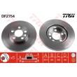 DF2754 TRW  bremžu disks