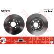 DF2773 TRW  bremžu disks