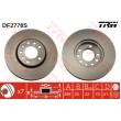 DF2778S TRW  bremžu disks