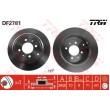 DF2781 TRW  bremžu disks