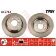DF2783 TRW  bremžu disks
