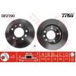 DF2790 TRW  bremžu disks