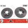 DF2803 TRW  bremžu disks