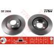 DF2806 TRW  bremžu disks