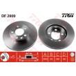 DF2809 TRW  bremžu disks