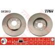 DF2812 TRW  bremžu disks