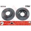 DF3118 TRW  bremžu disks