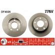 DF4026 TRW  bremžu disks