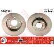 DF4039 TRW  bremžu disks