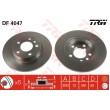 DF4047 TRW  bremžu disks