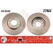 DF4048 TRW  bremžu disks