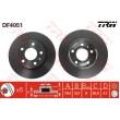 DF4051 TRW  bremžu disks