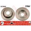 DF4069 TRW  bremžu disks