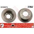 DF4087S TRW  bremžu disks