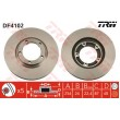 DF4102 TRW  bremžu disks