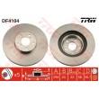 DF4104 TRW  bremžu disks