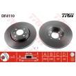 DF4110 TRW  bremžu disks