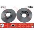 DF4111 TRW  bremžu disks