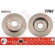 DF4112 TRW  bremžu disks