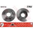 DF4116 TRW  bremžu disks