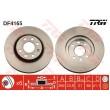 DF4165 TRW  bremžu disks