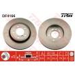 DF4166 TRW  bremžu disks