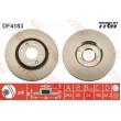 DF4183 TRW  bremžu disks