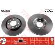 DF4184 TRW  bremžu disks