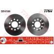 DF4186 TRW  bremžu disks
