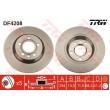 DF4208 TRW  bremžu disks