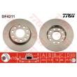 DF4211 TRW  bremžu disks