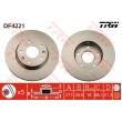 DF4221 TRW  bremžu disks