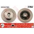 DF4227BS TRW  bremžu disks