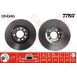 DF4246 TRW  bremžu disks