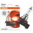 H11 OSRAM Original auto spuldze raž. Vācija - iep.blisters 12V 55W PGJ19-2 64211 halogēna lampa
